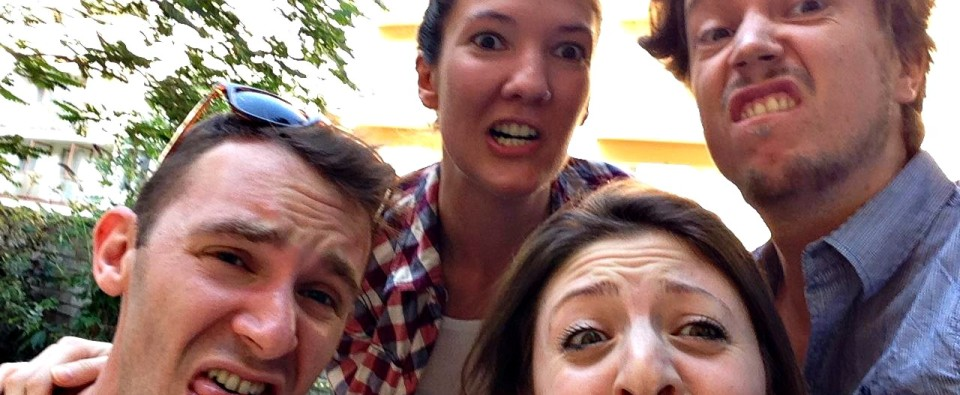 When couples work together, strange things start happening to their faces...