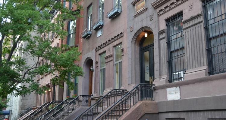 Upper West Side brownstones