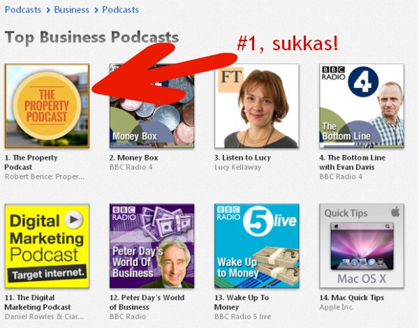 Property Podcast: #1 on iTunes!