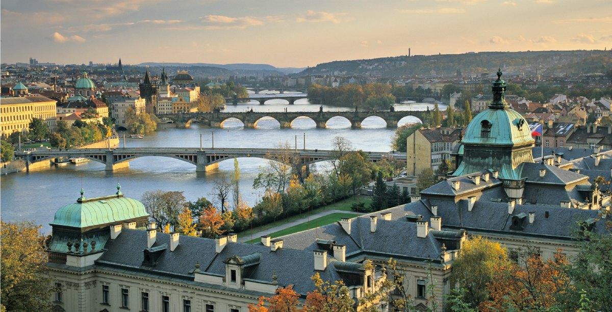 Prague: looks better than it smells.