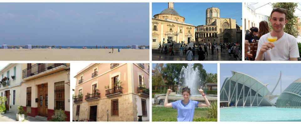 Valencia collage
